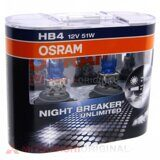 Лампа HB4 Osram Night Breaker (2 шт)