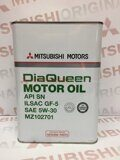 Maslo motornoe Mitsubishi Engine Oil SAE 5W-30 Japan, (4 л)
